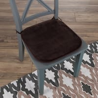 """Memory Foam Chair-Cushion 16""""x 16.25"""" with Ties by Windsor Home"""