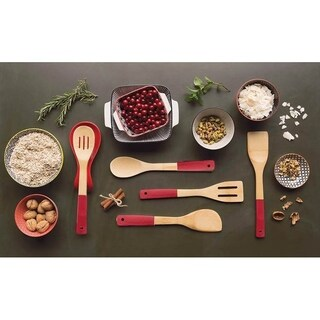 Now Designs Utensils, Set of Five, Chili