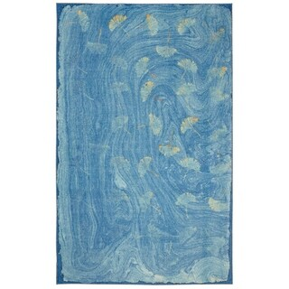 Mohawk Home Prismatic Daydream Blue/Gold/Teal Area Rug - 8' x 10'