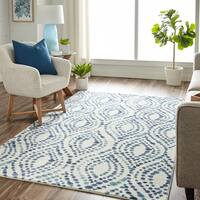 Mohawk Home Prismatic Dotted Ogee Area Rug - 8' x 10'