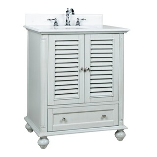 Benton Collection Keysville Farmhuose Bathroom Vanity GD-1087CK 30""