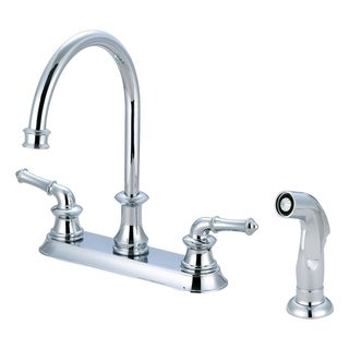 Del Mar 2 Handle Kitchen Faucet with Spray