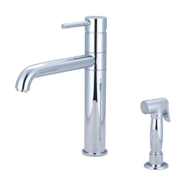 Motegi Single Handle Kitchen Faucet With Spray