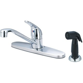 Link to Elite Single Handle Kitchen Faucet with Spray Similar Items in Faucets