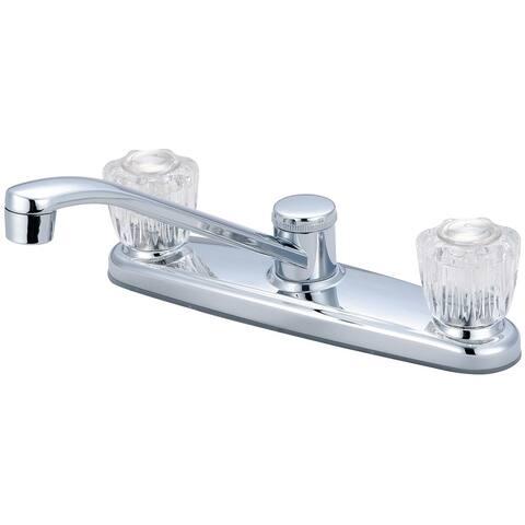 Elite 2 Handle Low Arc Kitchen Faucet