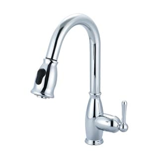 Link to Accent Single Handle Pull-Down Kitchen Faucet Similar Items in Faucets