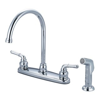 Link to Accent 2 Handle Kitchen Faucet with Spray Similar Items in Faucets