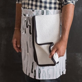 Now Designs White Oven Towel