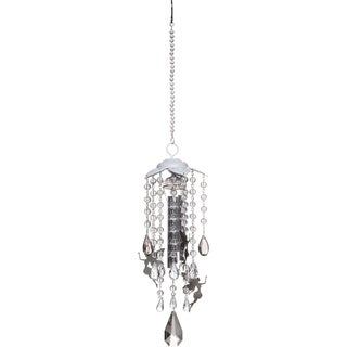 Metal and Crystal Fairy Windchime