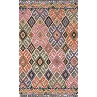 """Momeni Tahoe Wool Hand Tufted Multi Area Rug - 3'6"""" x 5'6"""""""