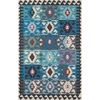 Momeni Veranda Multicolor Handmade Geometric Indoor/Outdoor Area Rug - 8' x 10'