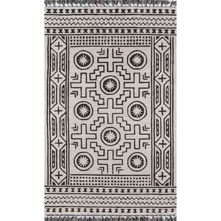 "Momeni Tahoe Wool Hand Tufted Linen Area Rug - 3'6"" x 5'6"""