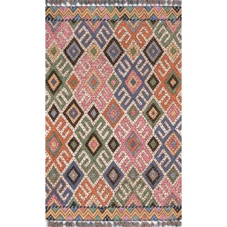 Momeni Tahoe Wool Hand Tufted Multi Area Rug - 2' x 3'