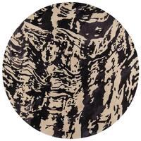 "Momeni New Wave Wool Hand Tufted Charcoal Area Rug - 5'9"" x 5'9"""