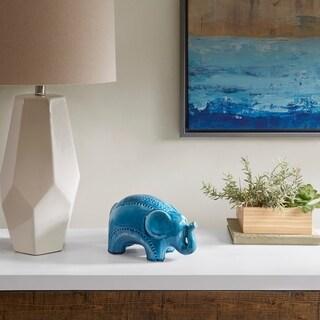 Madison Park Elephant Shaped Ceramic Decoration