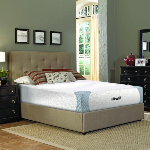 shop broyhill sensura 10 inch full size gelflex memory foam mattress on sale free shipping. Black Bedroom Furniture Sets. Home Design Ideas