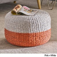 Stedman Water Hyacinth Foot Stool by Christopher Knight Home