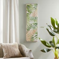 Madison Park Sylvan Leaf Wall Art - Green