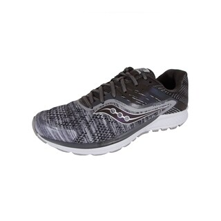 Saucony Mens Ride 10 Running Sneaker Shoes, Grey