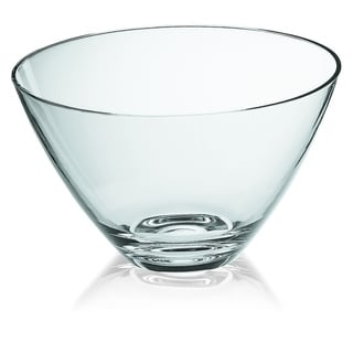 "Majestic Gifts  European High Quality Glass Bowl-10"" Diameter"