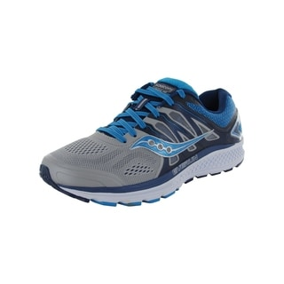 Saucony Womens Omni 16 Running Sneaker Shoes, Grey/Blue