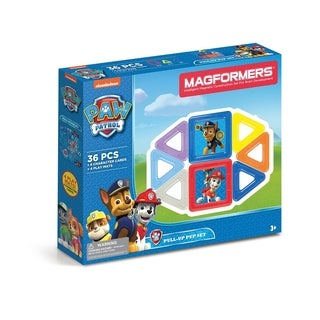 Magformers Paw Patrol 36 Piece Pull up Pup Magnetic Construction Set