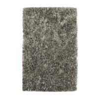 Dynamic Rugs Romance Mineral Grey Ribbon Shag Area Rug - 8' x 10'