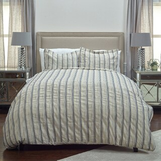 Rizzy Home Vincent III Pillow Sham - King - Natural/Indigo