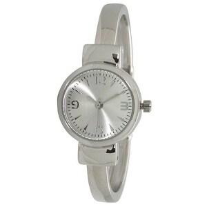 Olivia Pratt Petite Metal Cuff Watch - One size