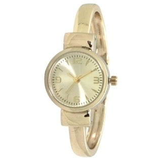 Olivia Pratt Petite Metal Cuff Watch - One size (3 options available)
