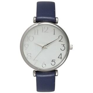 Olivia Pratt Classic Leather Watch - One size