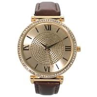 Olivia Pratt Classic Rhinestone Watch - One size