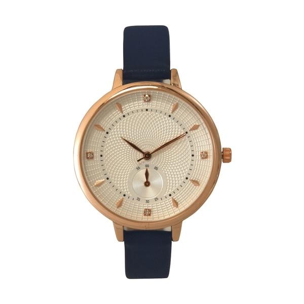 Olivia Pratt Geometric Textures Watch - One size