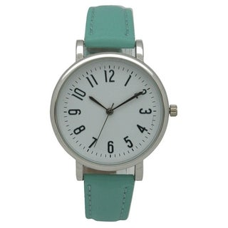 Olivia Pratt Timeless Leather Watch - One size