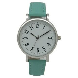 Olivia Pratt Timeless Leather Watch - One size