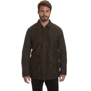 Excelled Men's Big and Tall Weekend Washed Cotton Barn Coat
