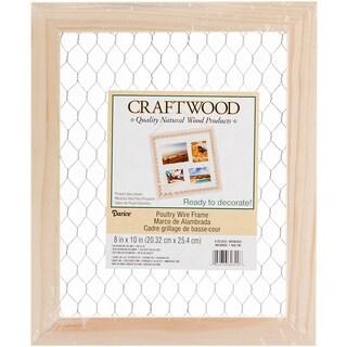 Wood Chicken Wire Frame