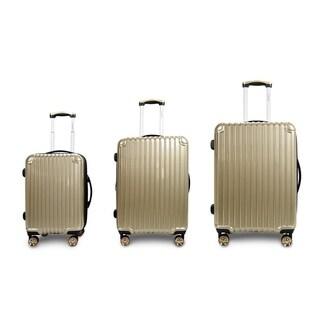 """TravelerSpace Sundance 20/24/28"""" 3PCS Hardside Expandable Luggage Set"""