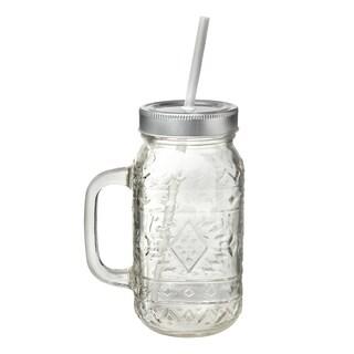 Santa Fe Mason Jar, Set of 6, 24 oz