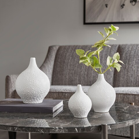 Madison Park Oslo Ceramic Vase (Set of 3)