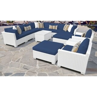 Monaco 13-piece Outdoor Wicker Patio Furniture Set