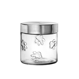 Maxwell Dog Glass Canister Small, 28 oz