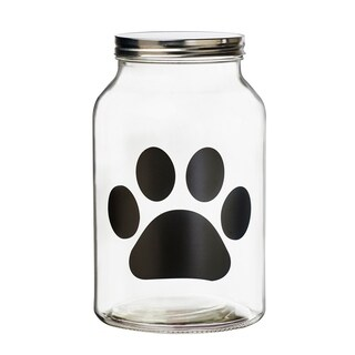 Buddy Paw Chalkboard Canister Large, 140 oz