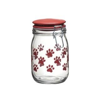 Paw Assorted Milan LG Red Hermetic Preserving Jars, 36 oz