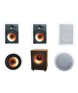 Premier Acoustic PA-8W In-wall Speaker System