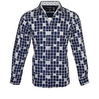 "Rock Roll n Soul Men's ""Heaven n Square"" Fashion Shirt (4 options available)"