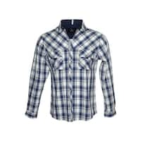 "Rock Roll n Soul Men's  ""Bad in Plaid""  Button up Fashion Shirt"