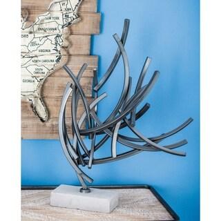 Strick & Bolton Tatum Metal Cement Sculpture