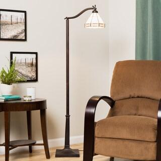 Tiffany-style Mission Reading Lamp