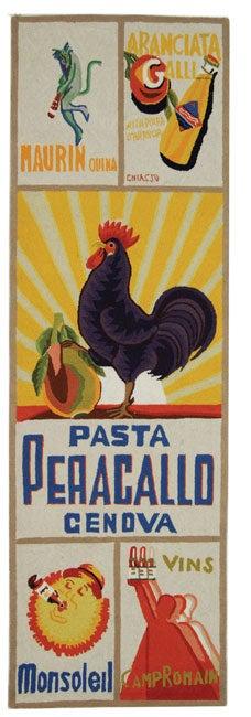 """Safavieh Hand-hooked Vintage Poster Ivory Wool Runner Rug - 2'6"""" x 8'"""